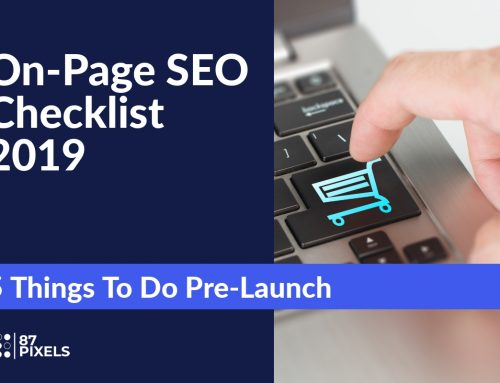 On-Page SEO Checklist 2019